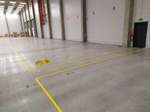 Navigační podlahové značení