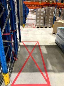 bezpečnostní podlahové značení